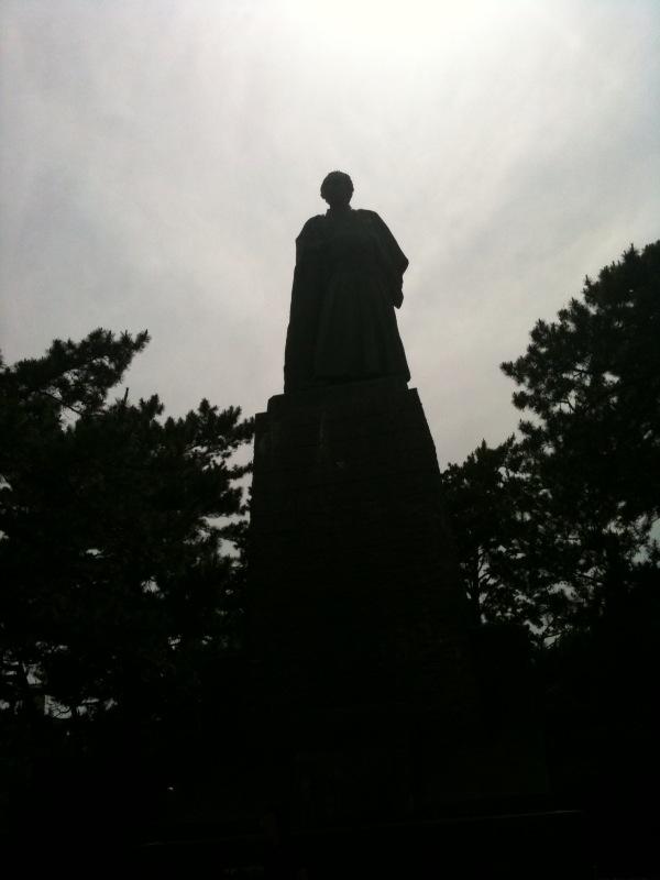 龍馬像in桂浜