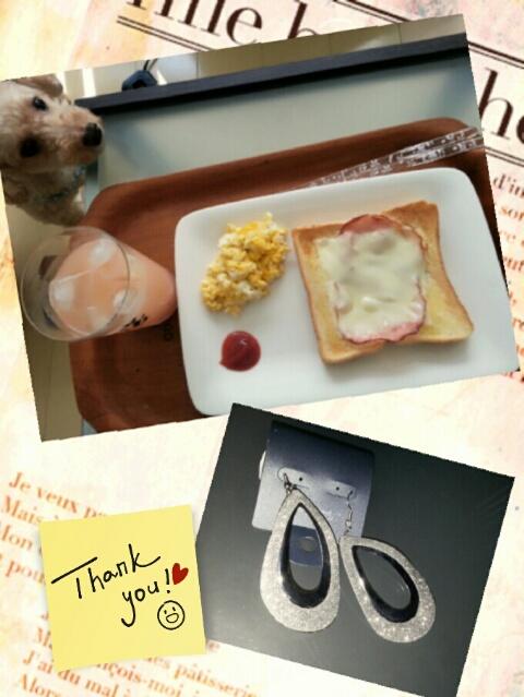 朝食とお土産